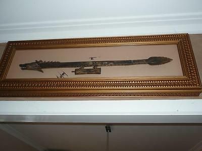 Wall Art - New Guinea Blow Pipe - Stolen Property - Paying a Reward