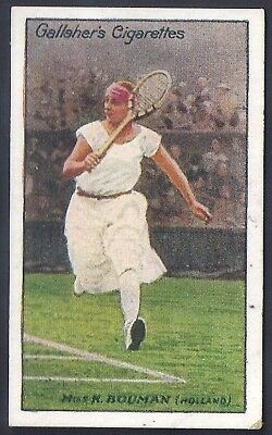 Gallaher-Lawn Tennis Celebrities-#23- Miss Bouman