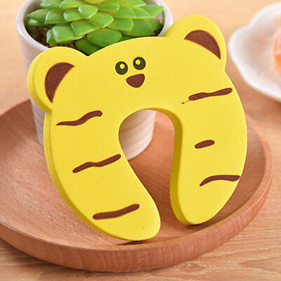 Baby Safety Foam Door Jammer Guard Finger Protector Stoppers Animal Designs