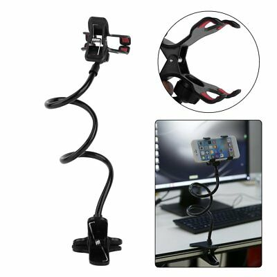 UK Lazy Shelf Bedside Mobile Phone Holder Clip For Smart Phone Stand Holder Desk