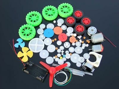 NEW Gear packages Toy car accessories Motor gear shaft Belt bushings DIY