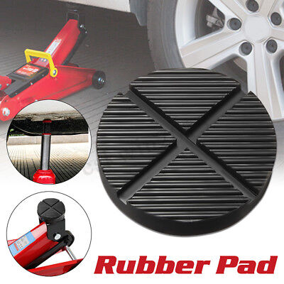 125mm Car Cross Slotted Frame Rail Floor Jack Rubber Pad Adapter For Pinch Weld