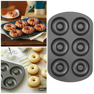 Donut Maker Pan Durable Nonstick Coating Wilton Cast Iron Stainless Steel 1 Pack