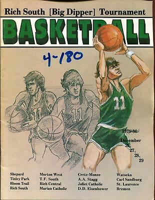 High School Basketball Program Illinois 1979 Tournament Big Dipper
