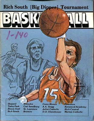 High School Basketball Program Illinois 1980 Tournament Big Dipper