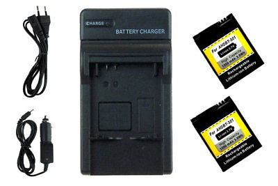 Chargeur USB + 2x Batteries AHDBT-301 pour GoPro Hero3 Black, White & Silver