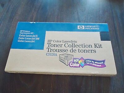 New Hp C3120A Color Laser Jets Tower Collection Kit. Made In Japan