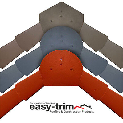 Easy-TrimUniversal Dry VergeStarter /& End CapVarious Colours Available