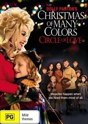 Dolly Parton's CHRISTMAS Of MANY COLORS Circle Of Love DVD BRAND NEW RELEASE R4