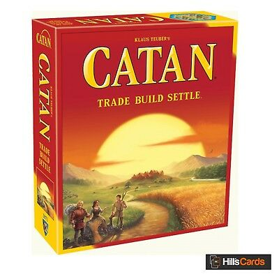"Catan Board Game - 2015 Refresh - 5th Edition - Base Set - ""Settlers Of"", Trade"