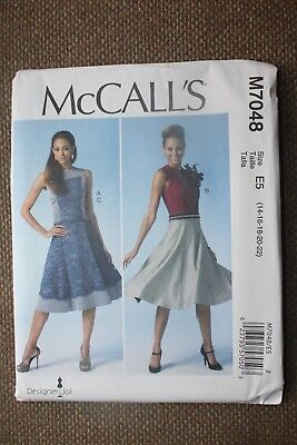 McCall's Sewing Pattern Misses Top,Skirt and Dress  Size 14-16-18-20-22