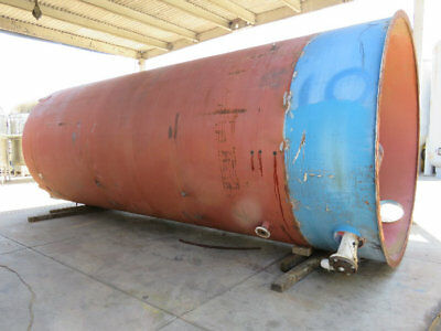 13,000 gallon steel tank rated to 15 PSI