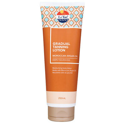 Le Tan Self Gradual Tanning Lotion Moroccan Argan Oil 250ml