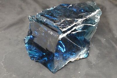 Glass Rock Slag Cullet Cobalt Blue 8Lbs Rocks Landscaping Deco Aquarium #1066