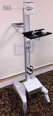 Rolling Stand w/ Arm Mount & Base Power Unit for Bard Site Rite 6 Ultrasound