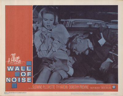 Wall of Noise 1963 11x14 Orig Lobby Card FFF-65575 Fine Suzanne Pleshette