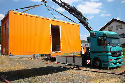 "SEE- CONTAINER- TRANSPORT,Baucontainer, Wohncontainer,  20""-Container, Bürocont"