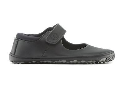New Vivobarefoot Pally Kids Black Minimalist School Shoe