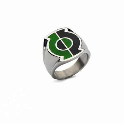 DC Comics Green Lantern Split Lantern Stainless Steel Ring