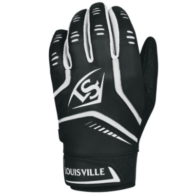 Louisville Slugger Adult Omaha Batting Gloves - Black