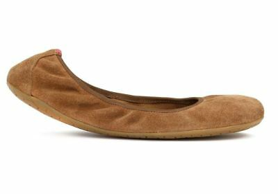 New Vivobarefoot Jing Jing Womens Suede Chestnut