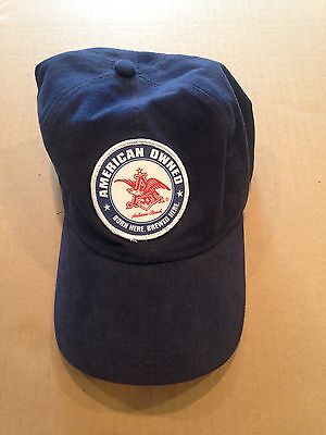 "Budweiser""American Owned"" Adjustable Hat"
