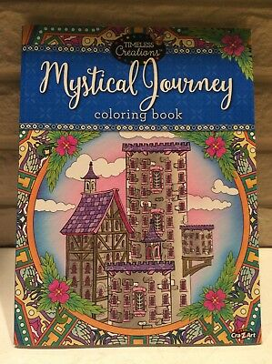 New Adult Coloring Book Timeless Creations Mystical Journey 64 Pages