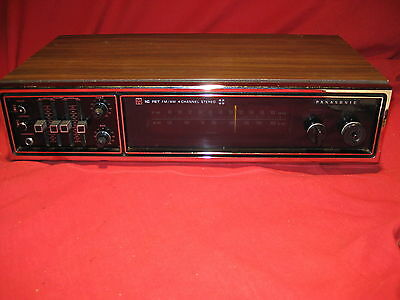 Vintage Panasonic RE-7750 FM-AM-FM IC-FET 4 channel Stereo Receiver - Serviced