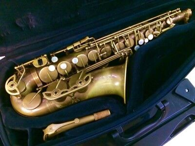 Professional Unlacquered Brass Macsax Empyreal Alto Saxophone Sax