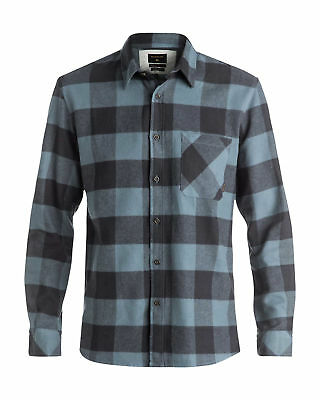 NEW QUIKSILVER™  Mens Motherfly Flannel Long Sleeve Shirt Tops