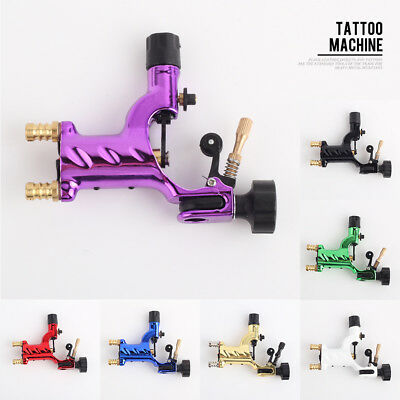 Rotary Tattoo Machine Shader And Liner Motor Gun Kits 7 Colors For Professionals