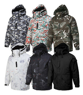 5d8ddfee26 SouthPlay Newest Premium Waterproof Ski-SnowBoard Mens Warming  Jacket Militarys