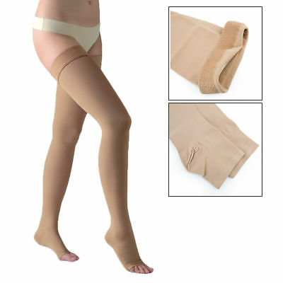 Thigh High Compression Stocking 23-32mmHg Therapeutic Varicose Vein Firm Support
