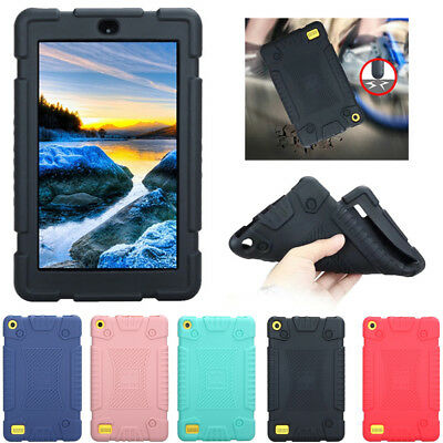 Soft Silicone Case Cover For Amazon Kindle Fire 7 HD 8 7th Gen 2016 2017 Tablet