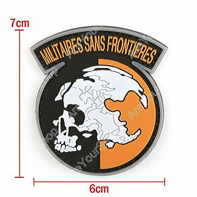PVC Metal Gear Solid Mgs Peace Walker Militaires Sans Frontieres Patch BS2
