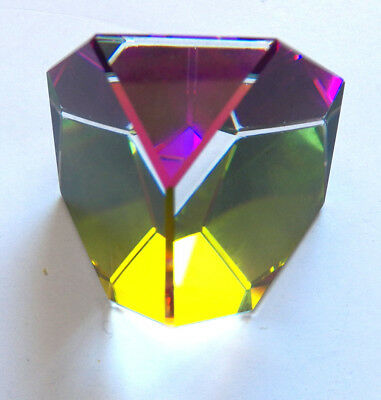 Swarovski Octron Paperweight 1 1/2  Inches Tall