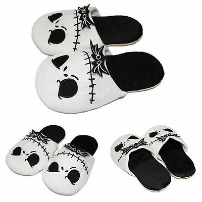 The Nightmare Before Christmas Jack Skellington Soft Unisex Plush Warm Slippers