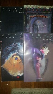 Stray Toasters #1,2,3,4 Bill Sienkiewicz