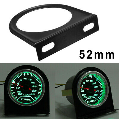 52mm 2inch Car Auto Duty Gauge Meter Dash Mount Pod Holder Cup Black Universal