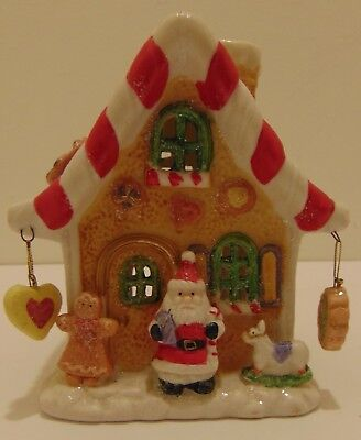 Gingerbread Tealight House For Christmas!!! Ceramic!!!