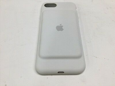Authentic Apple OEM iPhone 7 Smart Battery Case MN002LL/A White A1765 White
