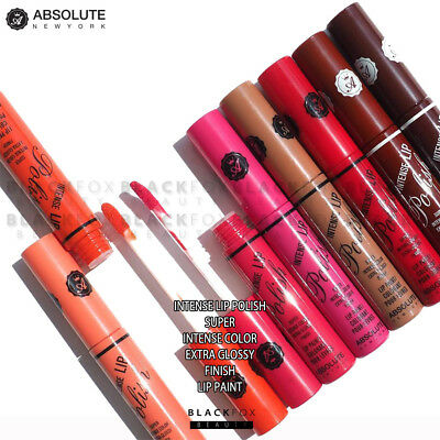 Absolute New York Intense Lip Polish Super Intense Color Extra Glossy Finish