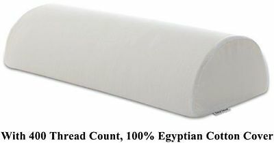 """InteVision Four Position Support Pillow (20.5"""" x 8"""" x 4.5"""") w/White Cotton Cover"""