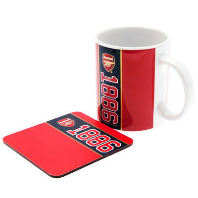 Official Football Clubs Established Mug and Coaster Set