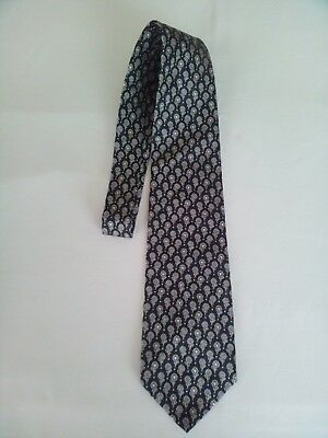 Moschino Cravatta Tie Pura Seta Pure Silk Made In Italy 3 Variante