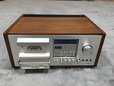 Pioneer CT-F900 Cassette Tape Deck with Wood Cabinet, Very Clean