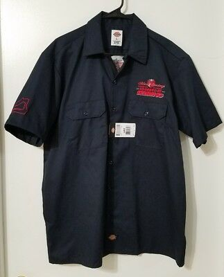 rare new nwts Porsche Club of America 48 hours at Sebring Dickies shirt Large L