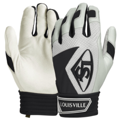 Louisville Slugger Series 7 Adult Baseball batting gloves - Black