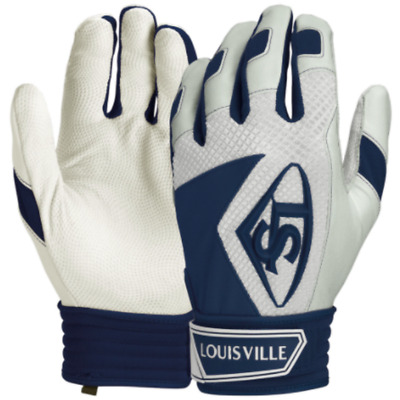 Louisville Slugger Series 7 Adult Baseball batting gloves - Navy Blue