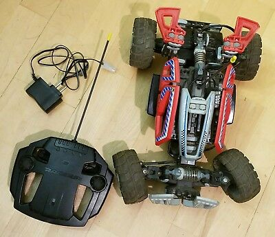 RED Lego Dirt Crusher 8369 RC Car